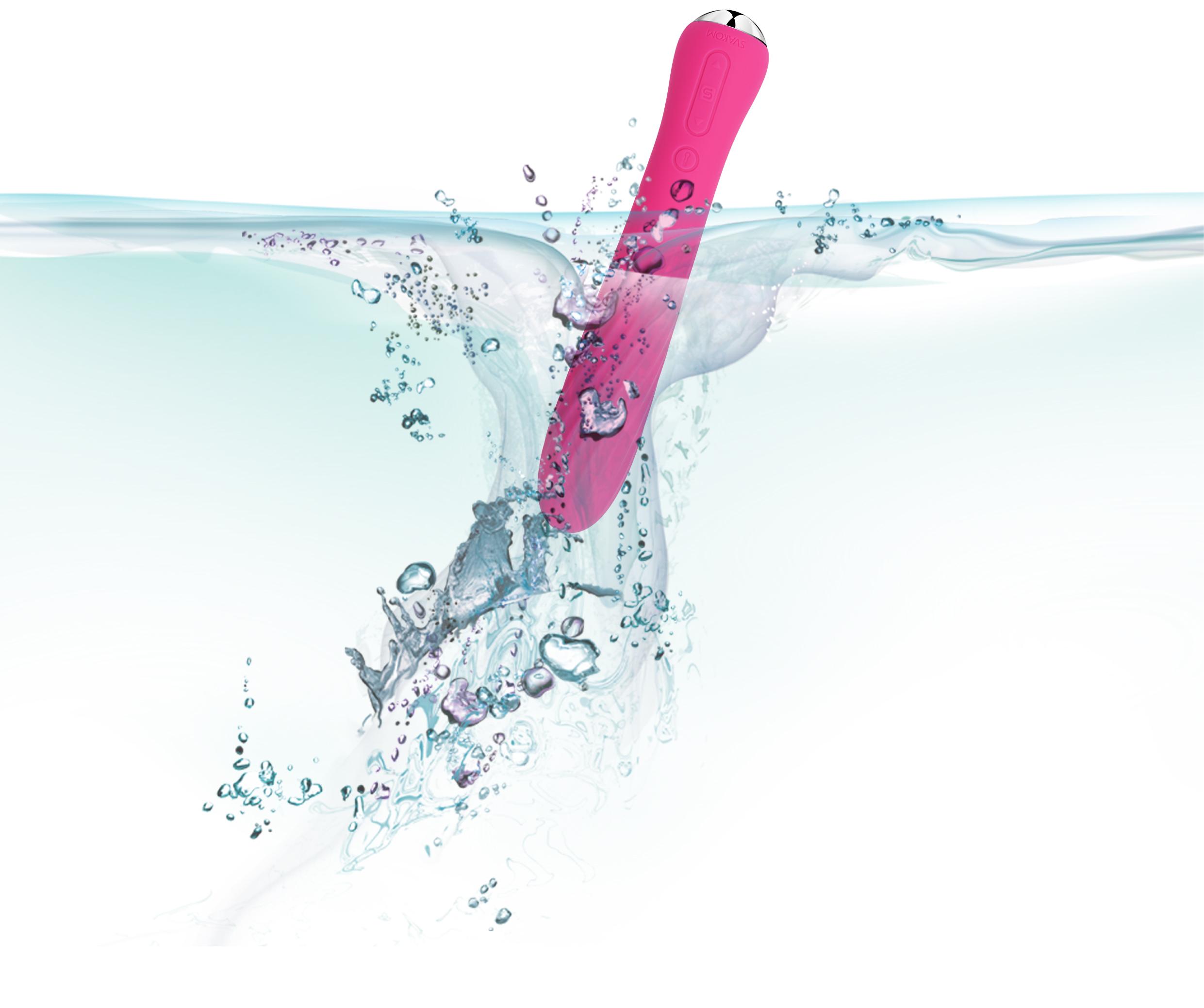 Anya - Vibrator Spiralat Multi Functional - Rezistent la apa